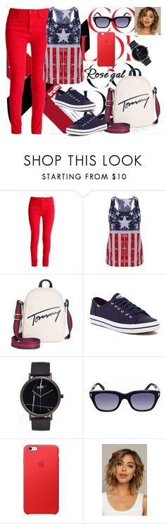 """""""Rosegal"""" by amraa-145 ❤ liked on Polyvore featuring Tommy Hilfiger, Keds, CLUSE and Tom Ford"""