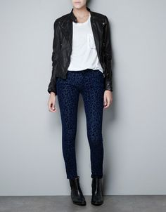 leather jacket from Zara- nice quality and very good fit (super slim-fitting), loving it
