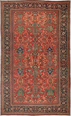 An antique rug from Warp + Weft is the classic accessory that enhances a room.