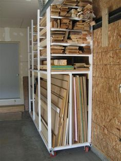 136 best Workshop Lumber Storage images on Pinterest