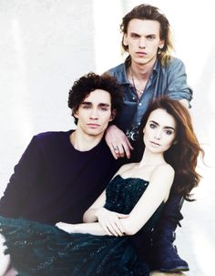 Lily Collins, Jamie Campbell-Bower, Robert Sheehan
