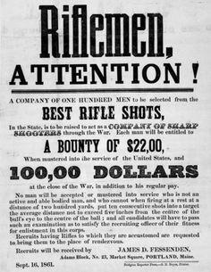 Sharpshooter recruiting poster