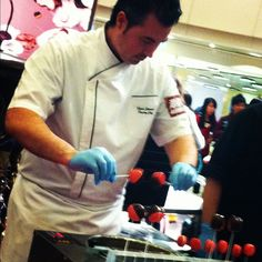 LIVE demonstration by Chef Ryan Zimmer from MOVENPICK!