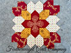 Lucy Boston POTC Block kit # 52 by FeatherweightQuiltCo on Etsy https://www.etsy.com/listing/212261939/lucy-boston-potc-block-kit-52
