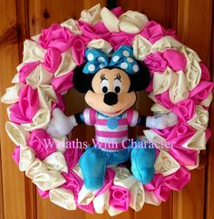 Disney Inspired Minnie Mouse 12 Balloon by WreathsWithCharacter