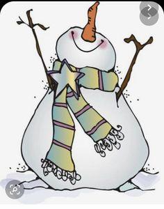 Watercolor Christmas Cards, Christmas Drawing, Christmas Paintings, Snowman Crafts, Christmas Projects, Christmas Crafts, Christmas Decorations, Snowman Soup, Christmas Rock