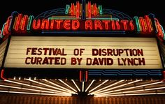 David Lynch's Festival Of Disruption was breathtaking. We're just months away from a new season of Twin Peaks, and David Lynch hosted a Festival of Disruption inside Los Angeles' Ace Hotel earlier this month. The event featured exhibits including photography from Mr. Lynch himself, film screenings, talks with icons like Laura Dern, Mel Brooks, and more. Artists such as Sky Ferreira, …