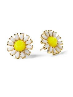 Kate Spade Garden Stud Earrings #spring