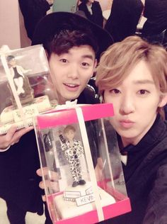 Kevin with Eric Nam ♡