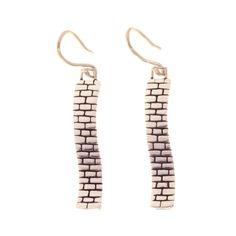 Brick earrings $65