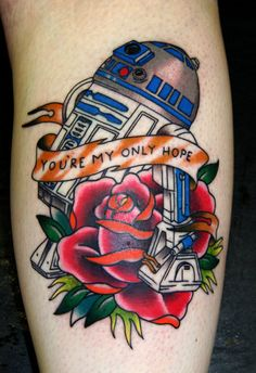 you're my only hope tattoo @Jacob McPherson McPherson McPherson Gaalswyk LOL!! This one reminds me of Brandon as well