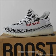 53dfb24814849a 2017 Adidas Originals Yeezy 350 Boost Zebra Releases Running Shoes Sneakers  Sply Yeezy Boost 350 Kanye West Discount Cheap With Box