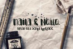 Naila Script Typeface - Free Font | Font Bundles