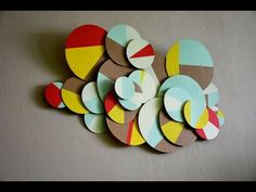 DIY - Awesome and Easy Wall Decorating Idea - YouTube