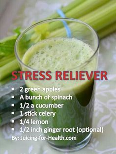 Stress relief juice