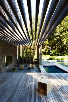 span architects / poolhouse, westport