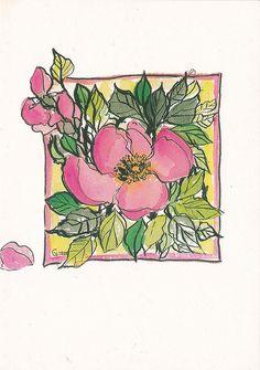 Ruusunpunaista  (Red rose)