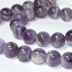 February birthstone waist beads amethyst - Thumbnail 3