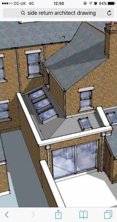 24 Trendy Door Design SketchYou can find House extensions and more on our Trendy Door Design Sketch House Extension Plans, House Extension Design, Glass Extension, Extension Ideas, Victorian Terrace House, Victorian Homes, Door Design, House Design, Porche