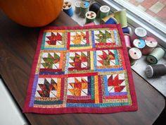 Darla E. Kavanaugh - maple leaf quilt