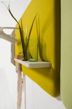 Pillow upholstered wall panels - Robert bronwasser