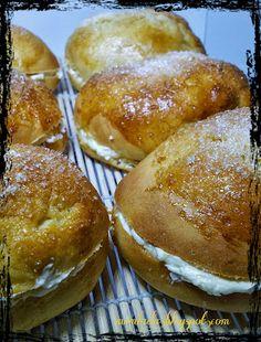 Mrmlada: Bollos de mantequilla de Bilbao OMNOMNOMNOMNOM!!!