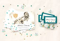 Love these DIY wedding save the dates! | Save-The-Date (DIY New Year's Eve Confetti) via @shopevermine