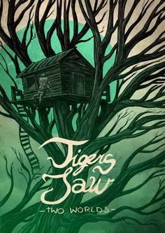 Tigers Jaw by Sebastian Skrobol, via Behance