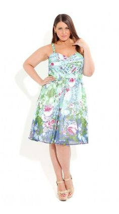 A pretty summer party dress.