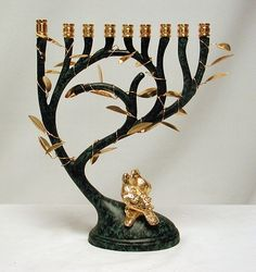 Tree of Life Menorah                                                                                                                                                     More