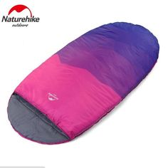 Naturehike Pancake Style Adult Single Outdoor Indoor Winter Camping Queen Widened Thickened Warm Lunch Break Sleeping Bag