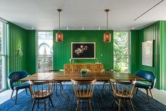 12 designs de salle à manger intemporels grâce au style mid-century moderne | BricoBistro