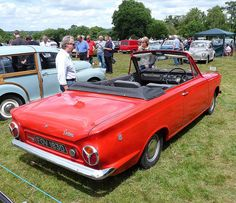 Such a peaceful rear view. (1966 Ford Cortina Mk1 Crayford convertible)