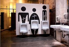 Cool 67 Amazing Public Bathroom Design Ideas. More at https://trendecor.co/2017/10/19/67-amazing-public-bathroom-design-ideas/