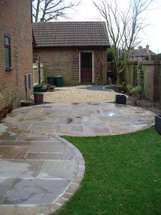 Raj Green Sandstone, Cool patios ideas.http://stokesandandgravel.co.uk/indian-stone-stoke.html