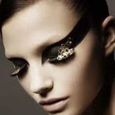 black eyeart | Black Tie Eye Art....