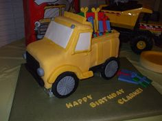 The Simple Cake: February 2009 How to make a truck cake