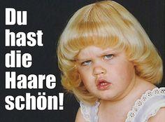 Ich fühle mich auf nicht besonders angenehme Art an meine Kindheit erinnert. :D #lustig #funny #kids #frisuren #fails