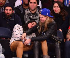 Cara Delevingne And Michelle Rodriguez Went To A Basketball Game, Got Messy Drunk And Made Out A Little - Cosmopolitan.com 17