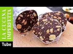 Salame di cioccolato senza uova | Le Ricette de La Cucina Imperfetta