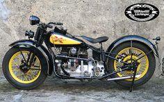 henderson Four Motorcycle | Henderson KJ, 1931, 1300 ccm, blue, rebuilt and restored