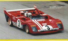 Merzario / Redman Ferrari 312PB '72 Cool Sports Cars, Sports Car Racing, Sport Cars, Motor Sport, Le Mans, Ferrari Racing, Ferrari F1, Can Am, Brian Redman