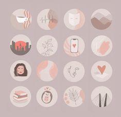Instagram Profile Picture Ideas, Instagram Story Ideas, Instagram Logo, Instagram Design, Hight Light, Design Tattoo, Iphone Icon, Journal Stickers, Brand Identity Design