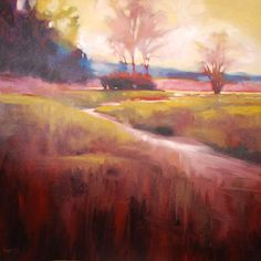 Marla Baggetta #art #paintings #landscapes #water #trees