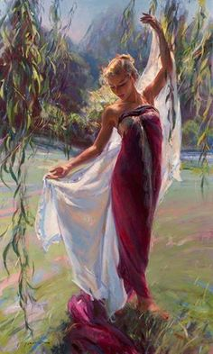 """Willow Dance"" by Daniel F Gerhartz"