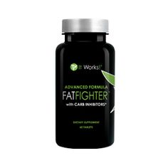 Advanced Formula Fat Fighter™ | It Works - Have a sweet tooth? A carb craving? It's okay to indulge every once in a while when you have Advanced Formula Fat Fighter with Carb Inhibitors!  Simply take Fat Fighter up to an hour after eating, and it will absorb some of the fat and carbohydrates from your food so that your body doesn't.