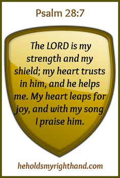 He  Holds My Right Hand: 10 Ways to Find Strength in the Lord