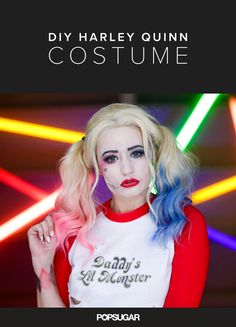 Harley Quinn will be one of the biggest costumes this Halloween, with the sure-to-be blockbuster Suicide Squad out next year. I decided to take on the infamous character, inspired by her look in the movie. I didn't have much to go from — just the trailer, a few paparazzi shots, and some Instagram photos — but I had a lot of fun getting into character. And let me just say that once you finish this costume, you'll want to kick some ass!