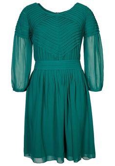 Prachtige smaragdgroene jurk van Great Plains @ Zalando