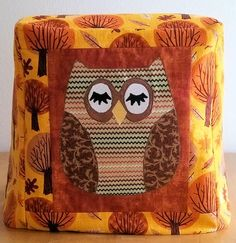 Kitchenaid Mixer Cover   Owl by PatsysPatchwork on Etsy, $30.00